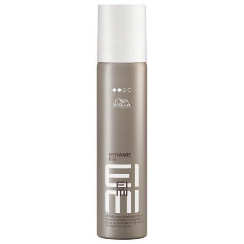 Wella Professionals Спрей для укладки волос Eimi Dynamic fix, средняя фиксация, 300 мл wella professionals спрей для укладки волос eimi body crafter средняя фиксация 150 мл