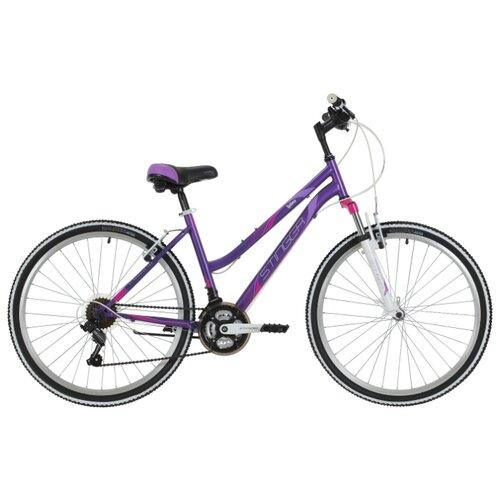 Горный (MTB) велосипед Stinger Latina 26 (2018) фиолетовый 15 (требует финальной сборки)Велосипеды<br>
