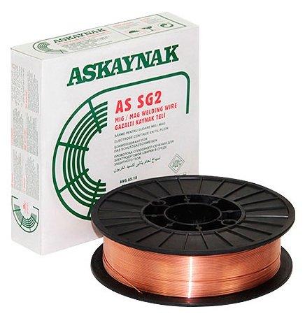 Проволока из металлического сплава ASKAYNAK AS SG2 0.8мм 5кг