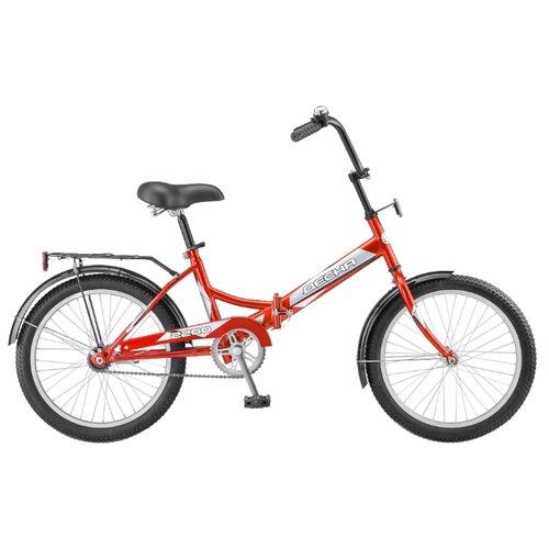 Городской велосипед Десна 2200 красный 13.5 (требует финальной сборки)Велосипеды<br>