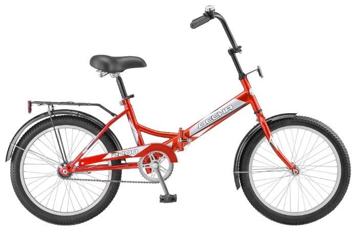 Городской велосипед Десна 2200 красный 13.5