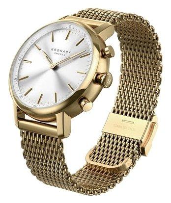 Часы Kronaby Carat (mesh bracelet)