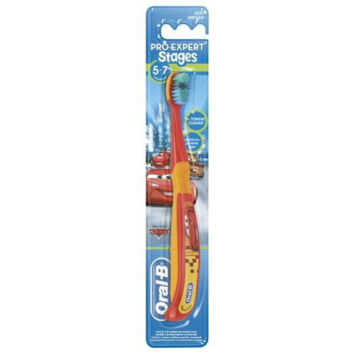 Купить Зубная щетка Oral-B PRO-EXPERT STAGES 3 от 5-7 лет, Гигиена полости рта