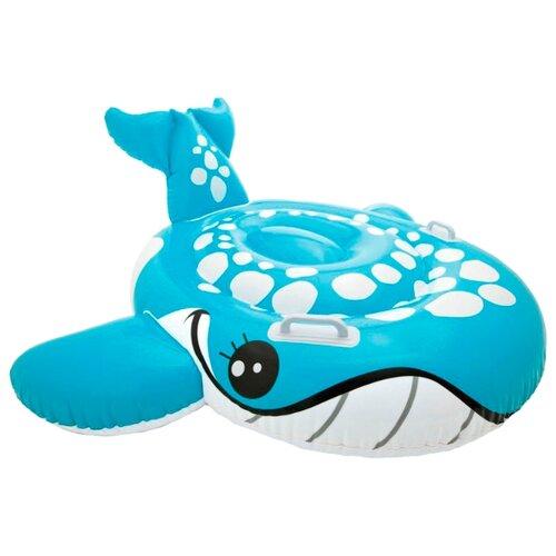 Купить Надувная игрушка-наездник Intex Голубой кит 57527 голубой, Надувные игрушки