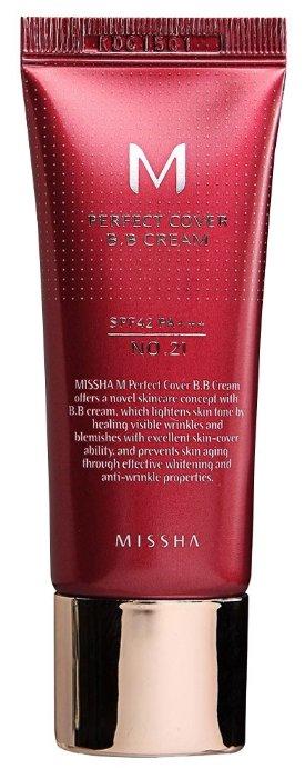 Missha BB крем Perfect Cover SPF 42, 20 мл