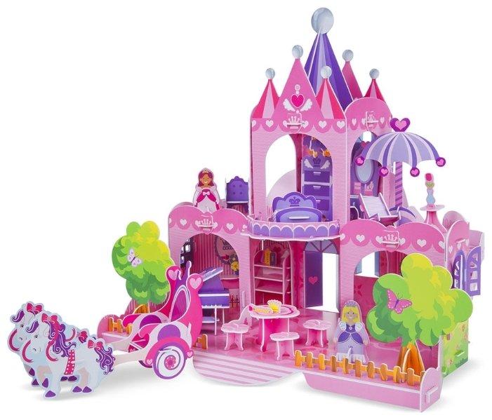 3D-пазл Melissa & Doug Кукольный домик (9462), 100 дет.