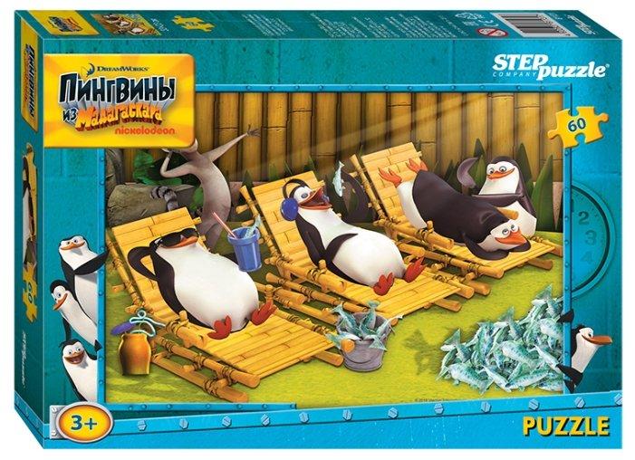 Пазл Step puzzle DreamWorks Пингвины из Мадагаскара (81131), 60 дет.