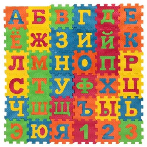 Купить Коврик-пазл Играем вместе Союзмультфильм с буквами (D18591ABC-CRT), Игровые коврики