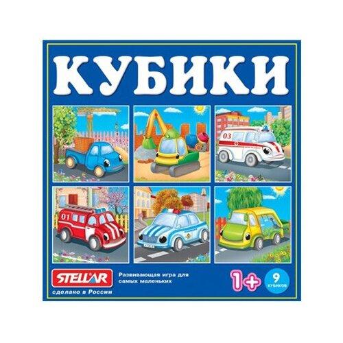 Купить Кубики-пазлы Stellar с картинками 00839, Детские кубики