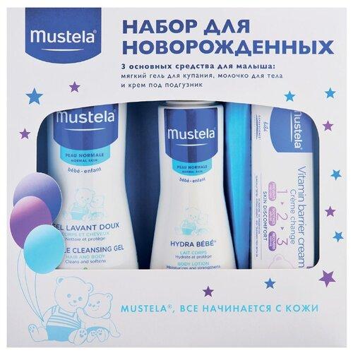 Mustela Набор подарочный для новорожденных (3 шт.) mustela цена в россии