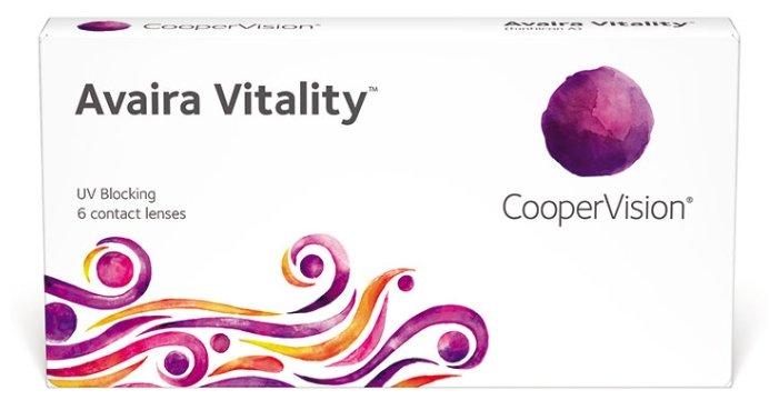Контактные линзы CooperVision Avaira Vitality (6 линз) R 8,4 D -1,25