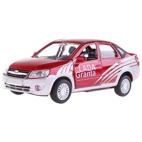 Легковой автомобиль Autogrand Lada Granta спорт (33960) 1:36 красный/серый autogrand игрушка autogrand машинка lada 111 спорт 1 36