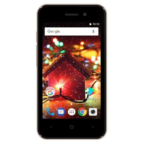 Смартфон DIGMA HIT Q401 3G золотистый смартфон