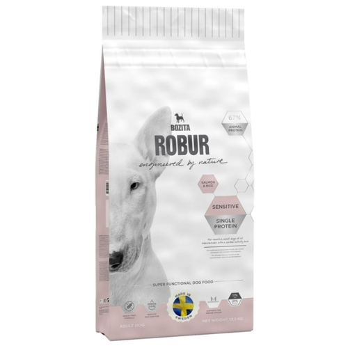 Корм для собак Bozita (12.5 кг) Robur Sensitive Single Protein Salmon & Rice
