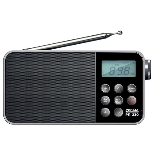 Фото - Радиоприемник СИГНАЛ ELECTRONICS РП-230 черный радиоприемник сигнал electronics рп 227