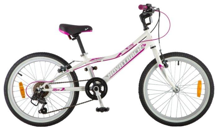 Подростковый горный (MTB) велосипед Novatrack Alice 20 6 (2018)