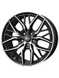 Диск колесный MOMO Spider SUV 10x21/5x112 D66.6 ET25 Matt black polished - фото 1