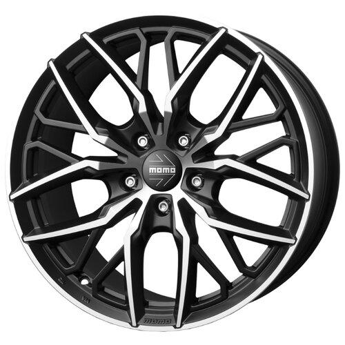 Колесный диск Momo Spider 10x21/5x150 D110.1 ET45 Matt Black Diamond Cut oz monaco hlt 9 5x20 5x150 d110 6 et42 matt black