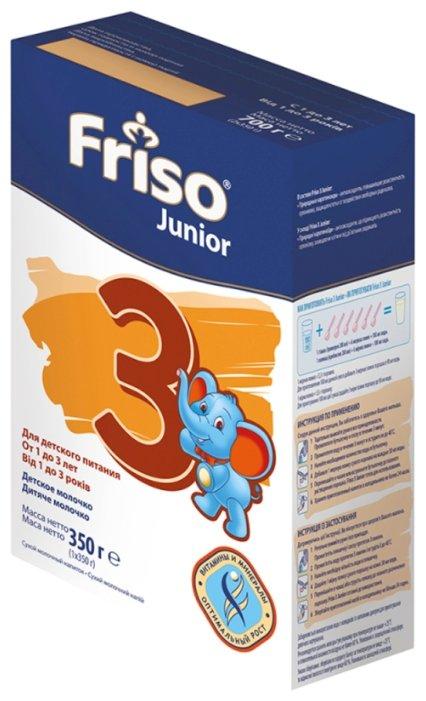 Смесь Friso 3 Junior (от 1 года до 3 лет) 350 г — цены на Яндекс.Маркете
