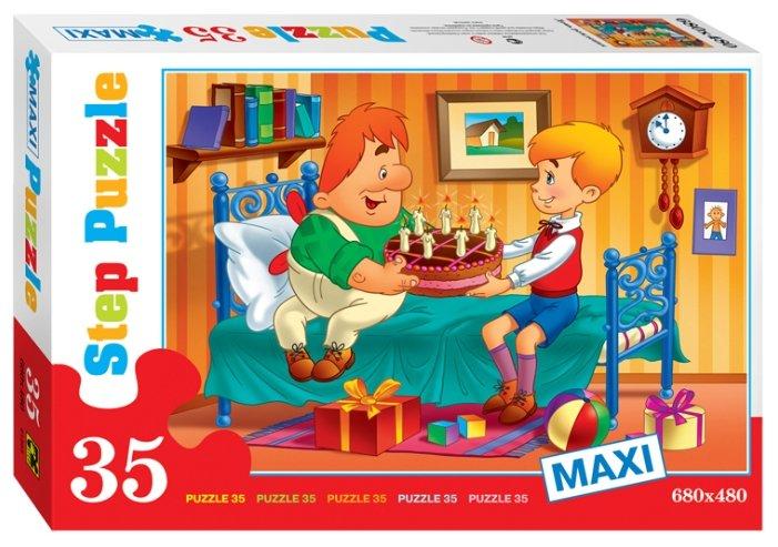 Пазл Step puzzle Союзмультфильм День рождения (91303), 35 дет.
