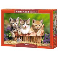 Пазл Castorland Three Lovely Kittens (B-52561) , элементов: 500 шт.