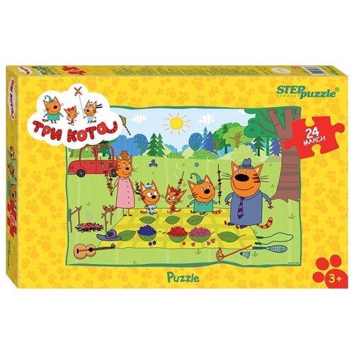 Купить Пазл Step puzzle СТС Три кота (90033), 24 дет., Пазлы