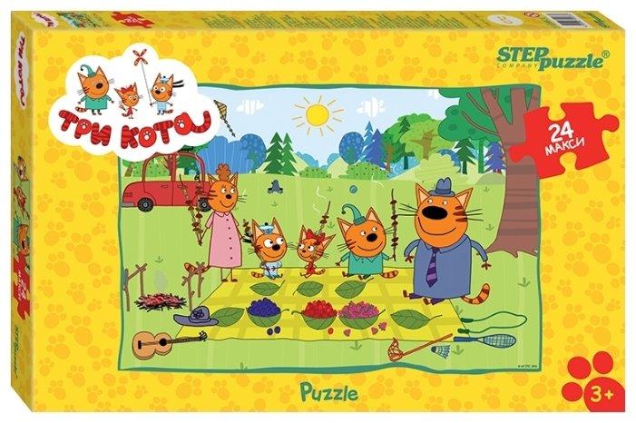 Пазл Step puzzle СТС Три кота (90033), 24 дет.