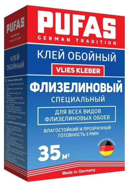 Клей для обоев PUFAS GT Vlies Kleber