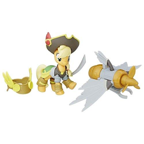 Игровой набор My Little Pony Хранители гармонии Пират Эпплджек C3344 игровой набор b2072eu4 на ферме яблочная аллея my little pony my little pony