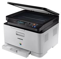 МФУ Samsung Xpress C480W серый/черный