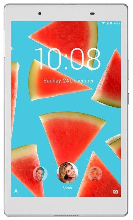 Планшет LENOVO Tab 4 TB-8504X, 2GB, 16GB, 3G, 4G, Android 7.0 белый [za2d0059ru]