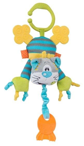 Подвесная игрушка BabyOno Котик и рыбка (1398)