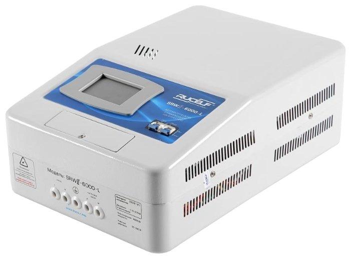 Стабилизатор напряжения однофазный RUCELF SRWII-6000-L (5 кВт)