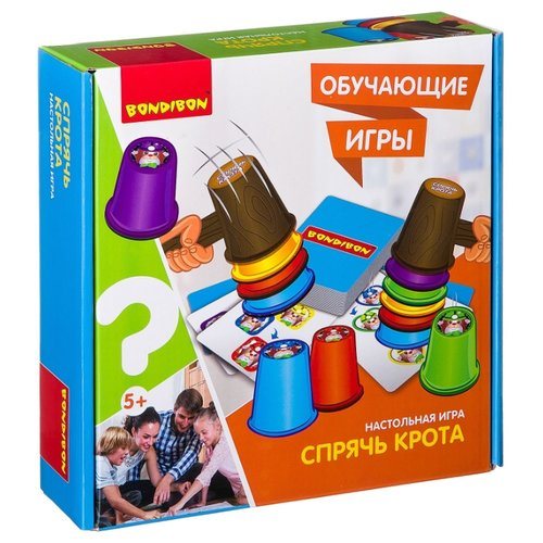Купить Настольная игра BONDIBON Спрячь крота ВВ2420, Настольные игры