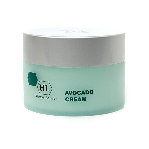 Купить Holy Land Avocado Cream Классический смягчающий увлажняющий крем для лица с успокаивающим и легким антикуперозным эффектом, 250 мл