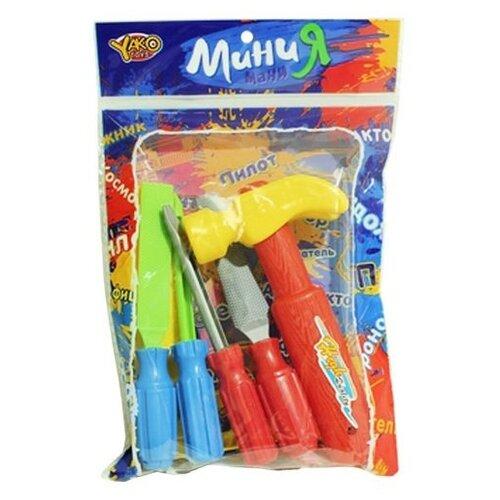 Купить Shantou Gepai МиниМаниЯ, 5 предметов M6352, Детские наборы инструментов