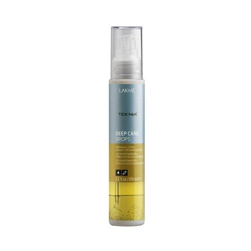 Lakme Teknia Deep Care Лосьон восстанавливающий для сухих или поврежденных волос, 100 млМаски и сыворотки<br>