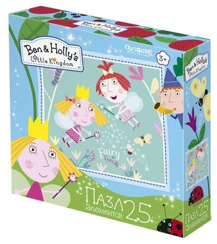 Пазл Origami Ben & Holly's Little Kindom Друзья навсегда (02884), 25 дет.