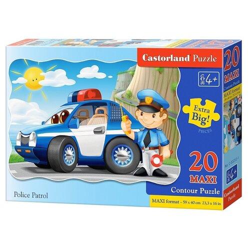 Купить Пазл Castorland Police Patrol (C-02252), 20 дет., Пазлы