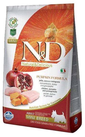Farmina (10 кг) N&D Grain-Free Canine Pumpkin Chicken & Pomegranate Adult Mini