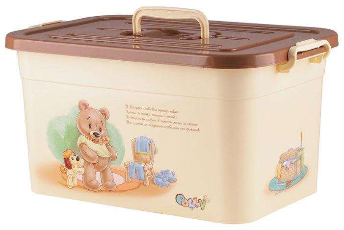 Полимербыт Ящик для игрушек 15л POLLY [81120]