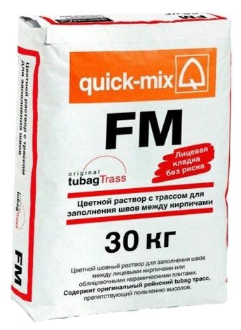 Затирка quick-mix FM 30 кг