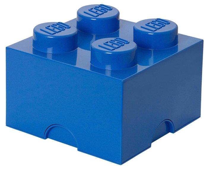 Пластиковый кубик LEGO Classic 40031749 Пластиковый кубик для хранения 4, лиловый