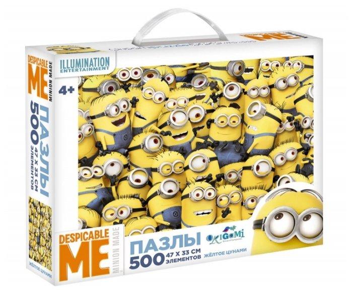 Пазл Origami Minions Желтое цунами (01681), 500 дет.