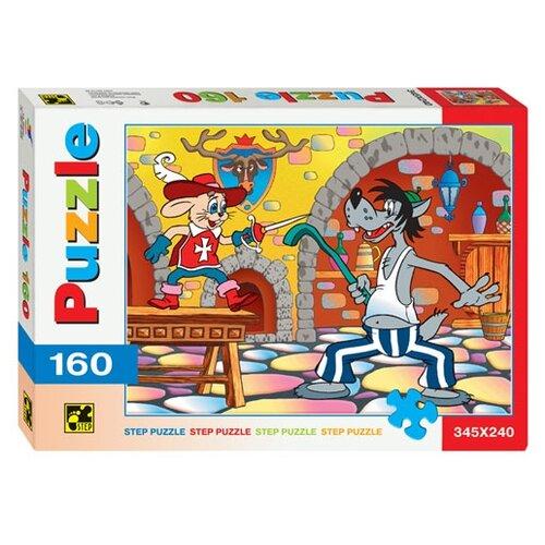 Пазл Step puzzle Ну, погоди! со шпагой (72003), 160 дет. step puzzle кубики ну погоди