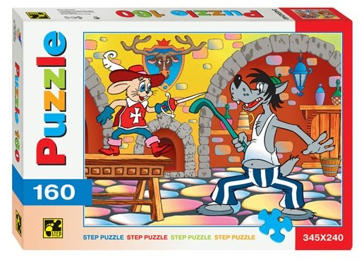 Пазл Step puzzle Ну, погоди! со шпагой (72003), 160 дет.