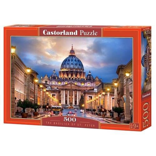 Фото - Пазл Castorland The Basilica St. Peter (B-52349), 500 дет. пазл castorland old sutter's mill b 52691 500 дет