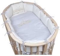 Pituso комплект для овальной кроватки Звездочка (6 предметов)