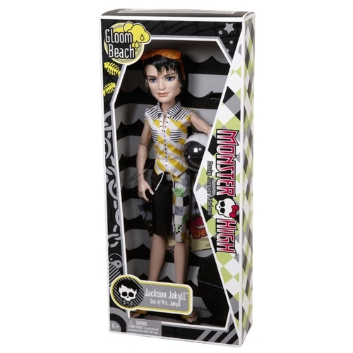 Кукла Monster High Мрачный пляж Джексон Джекилл, 27 см, T7991