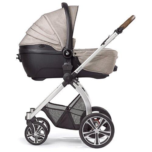 Купить Универсальная коляска Gesslein Indy Bubble (2 в 1) Highrise, цвет шасси: серебристый, Коляски
